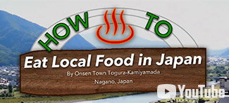 How to Eat Local Food in Japan